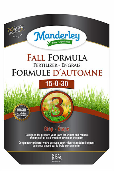 Manderly Fall Formula Fertilizer<br/> (8 kg)