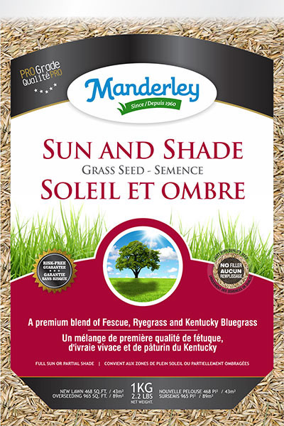 Manderly Sun/Shade Grass Seed<br/> (1 kg)