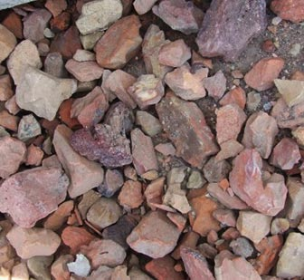 40mm (1-1/2 in) Red Shale