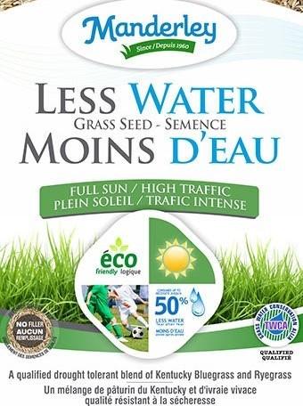 Manderley Less Water Grass Seed (22.7 kg)
