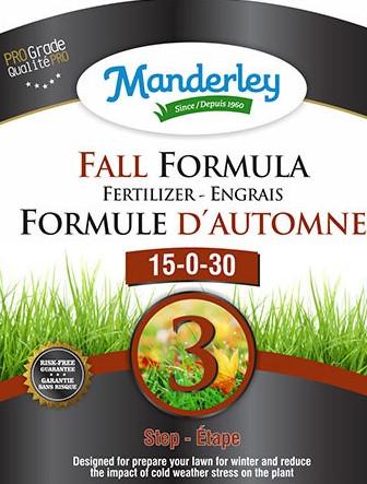 Manderley Fall Formula Fertilizer (20 kg)