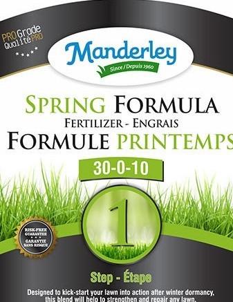 Manderely Spring Formula Fertilizer (20 kg)