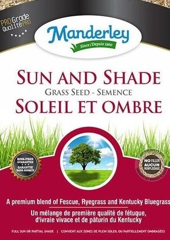 Manderley Sun/Shade Grass Seed (22.7 kg)