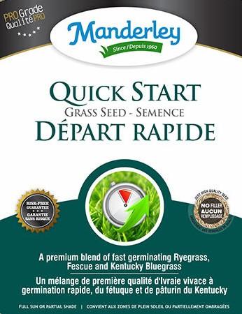 Manderely Quick Start Grass Seed (22.7 kg)